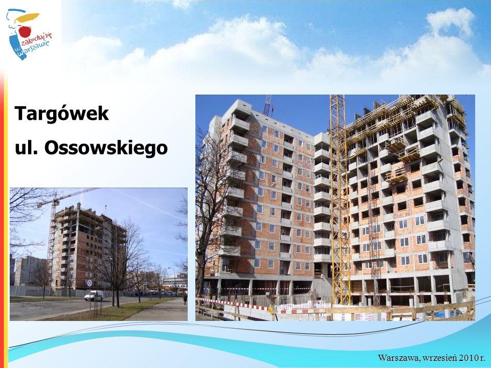 Warszawa, wrzesień 2010 r. Targówek ul. Ossowskiego