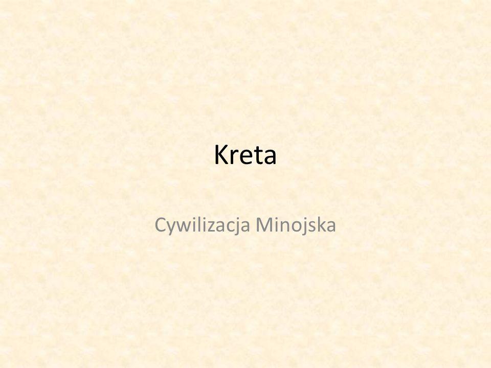 Kreta Cywilizacja Minojska