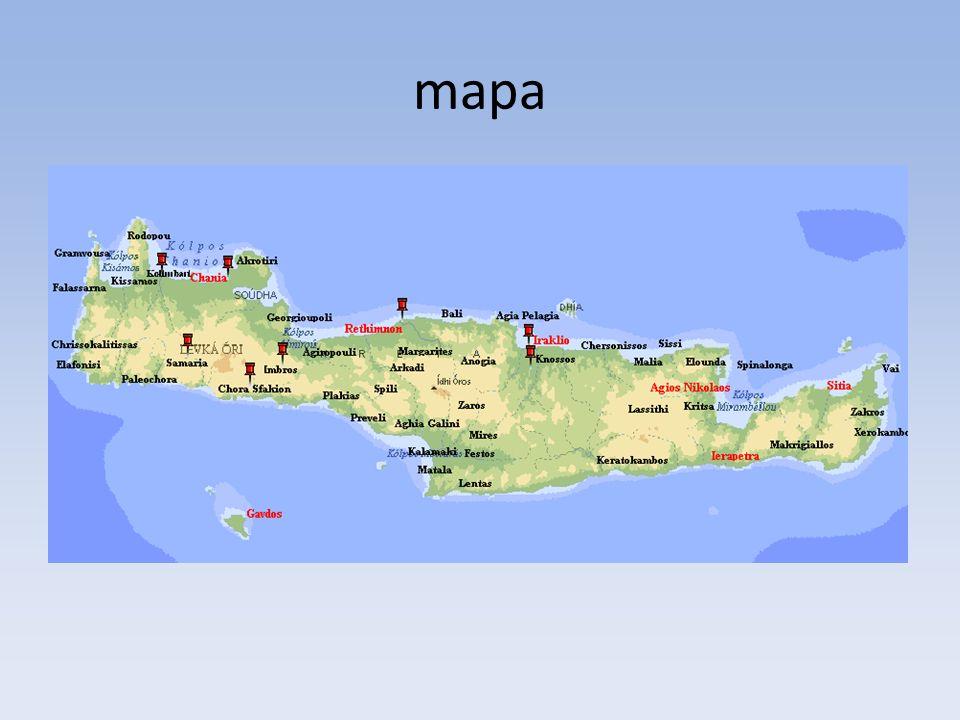OŚRODKI WŁADZY NA KRECIE: Na wschód od Knossos: Mallia i większy ośrodek Zakros.