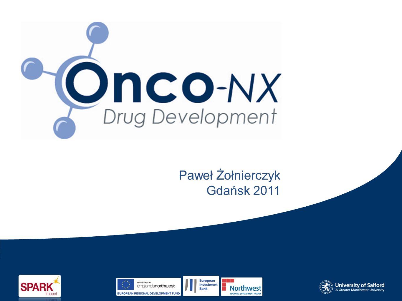 Treść Prezentacji Onco-NX Ltd wprowadzenie Ewolucja projektu Krytyczne czynniki sukcesu Podsumowanie Dyskusja