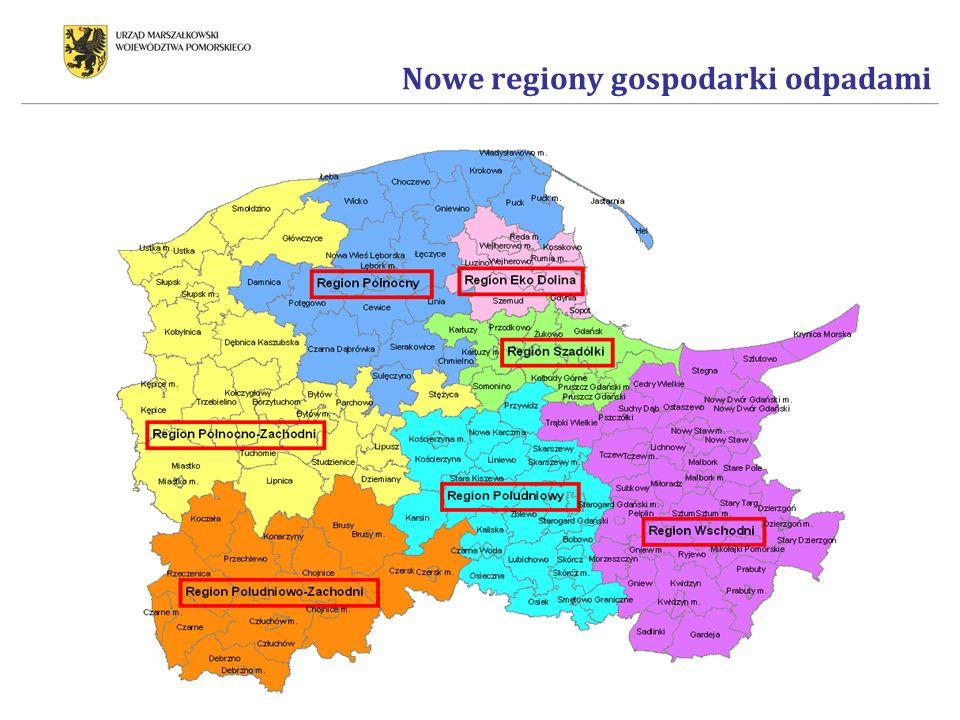 Nowe regiony gospodarki odpadami