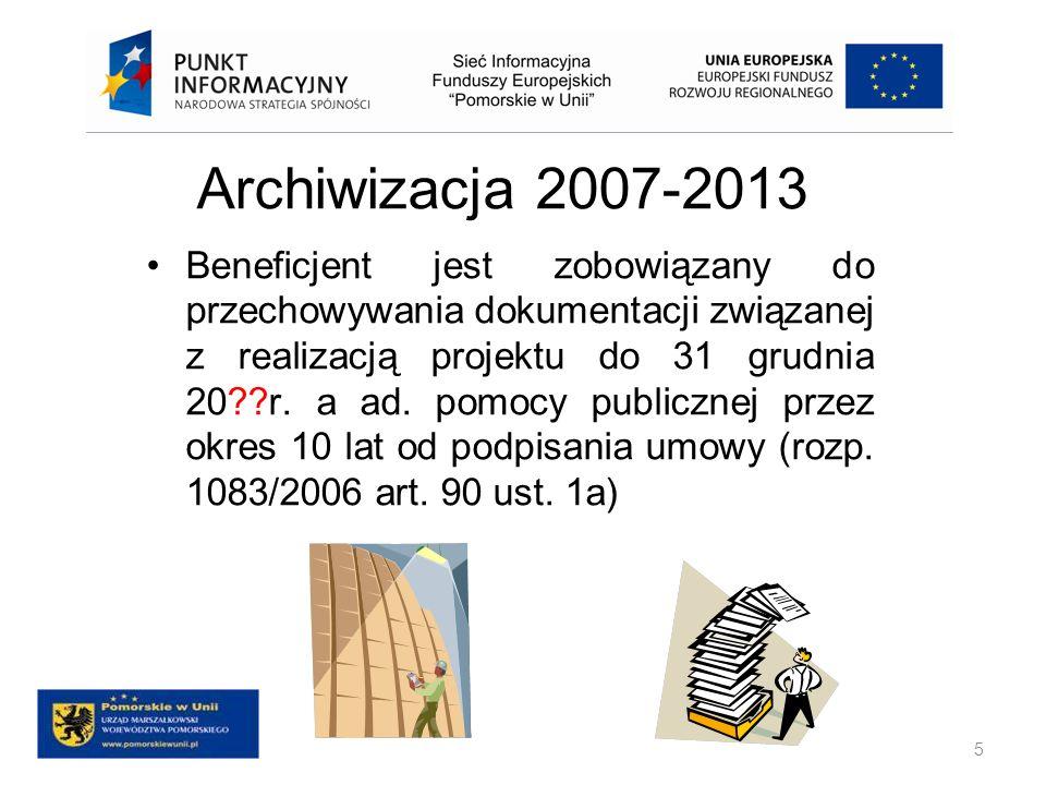 Zasady kwalifikowania projektów Zasięg geograficzny kwalifikowalności Ocena kwalifikowalności projektu Trwałość projektu 16