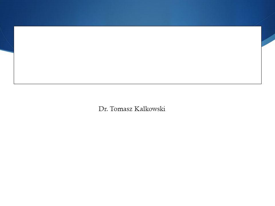 Dolina Krzemowa jako fenomen spo ł eczno- ekonomiczny. Od wizjonerskiej przesz ł o ś ci do pragmatycznej przysz ł o ś ci. Dr. Tomasz Kalkowski