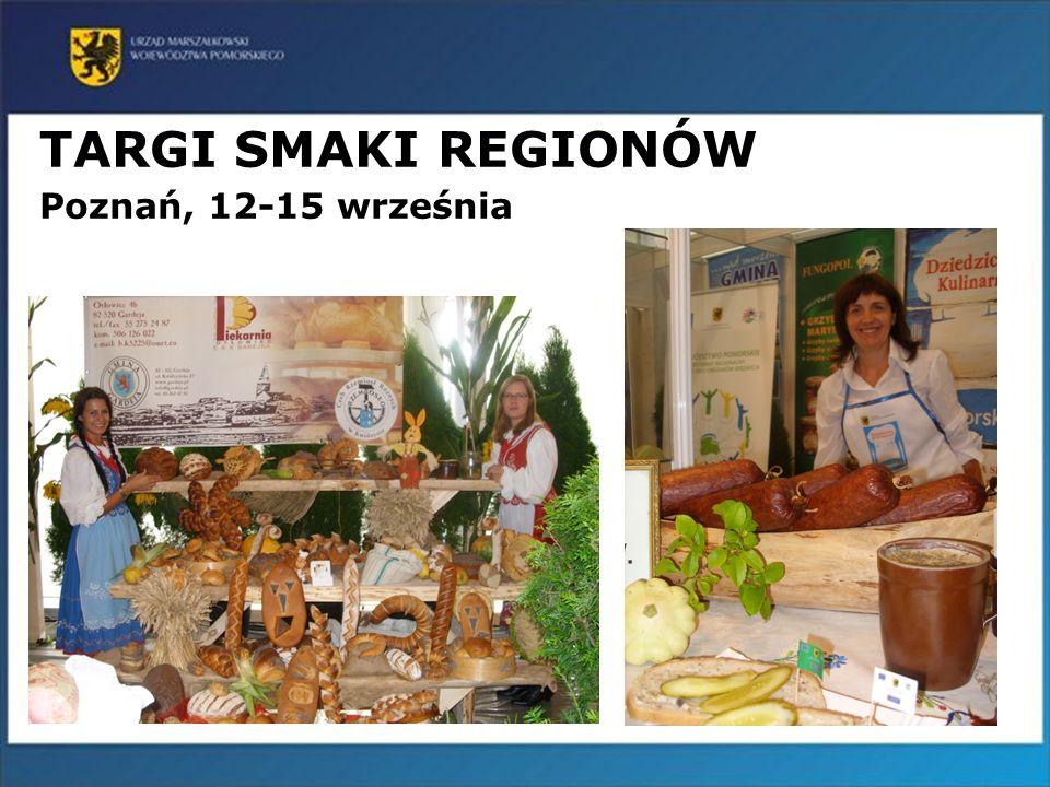 18 TARGI SMAKI REGIONÓW Poznań, 12-15 września