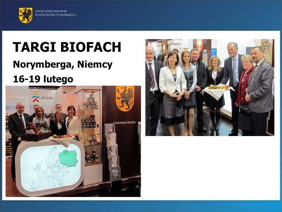 21 TARGI BIOFACH Norymberga, Niemcy 16-19 lutego