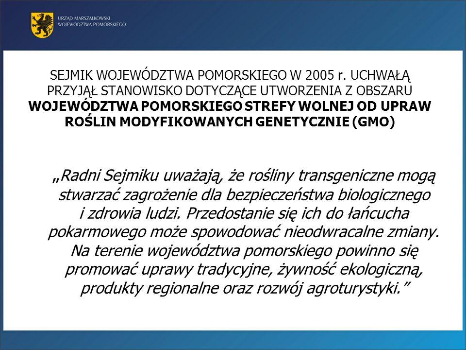 Procentowy udział gospodarstw ekologicznych w województwie pomorskim (2010) Opr. PODR