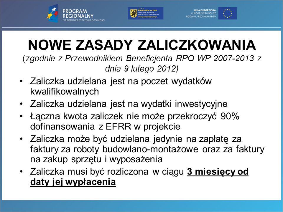 Od dnia 20 stycznia 2012 korespondencja z Beneficjentem odnośnie korygowania wniosków i załączników prowadzone będzie wyłącznie poprzez pocztę elektroniczną