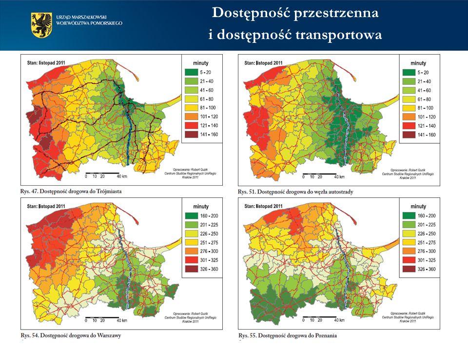 Dostępność przestrzenna i dostępność transportowa