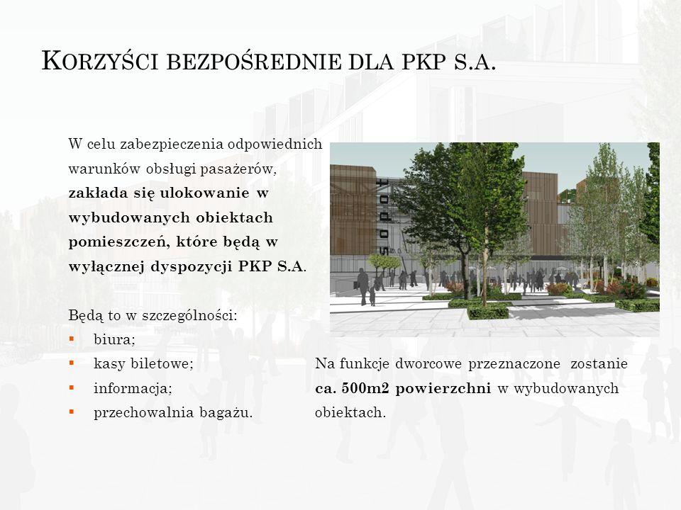 K ORZYŚCI BEZPOŚREDNIE - P ARTNER P RYWATNY uzyska dostęp do atrakcyjnych i najlepiej w Polsce zlokalizowanych gruntów; uzyska nowoczesne powierzchnie handlowo – usługowe ; osiągnie korzyść finansową w postaci zwrotu z zaangażowanego kapitału.