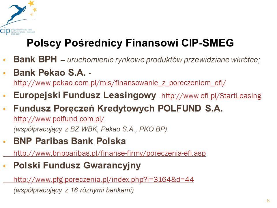 Bank BPH – uruchomienie rynkowe produktów przewidziane wkrótce; Bank Pekao S.A.