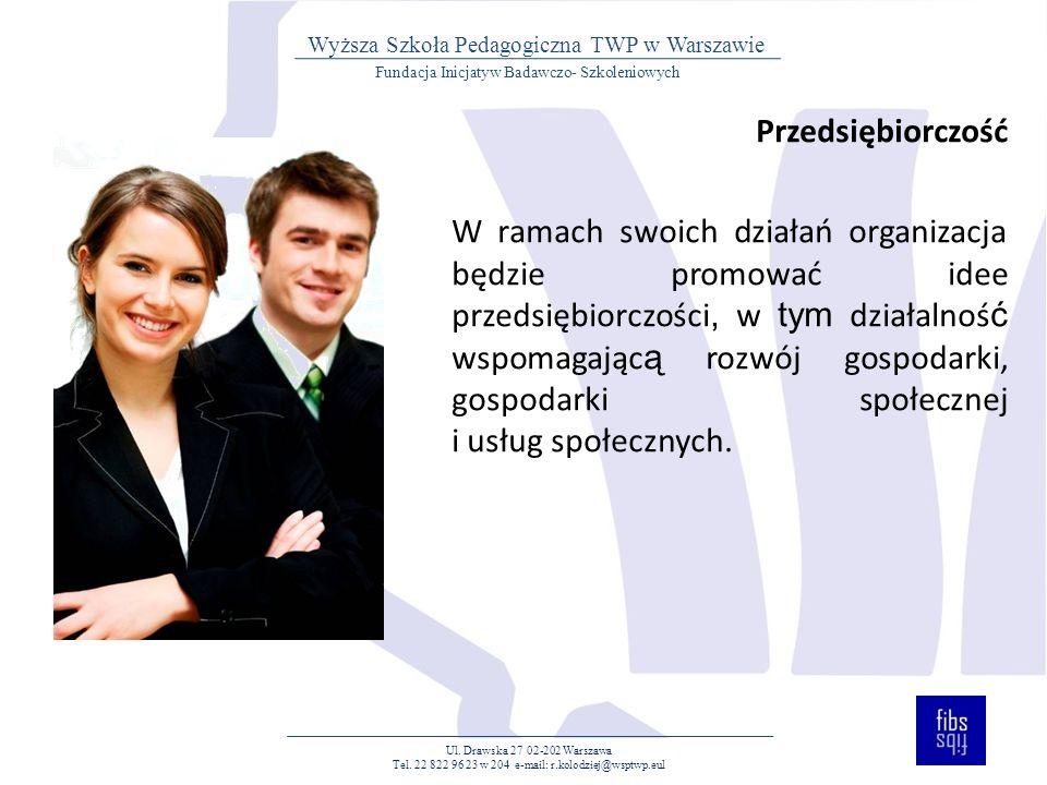 Doradztwo i wsparcie Prowadzenie doradztwa zawodowego, personalnego, prawnego, edukacyjnego.