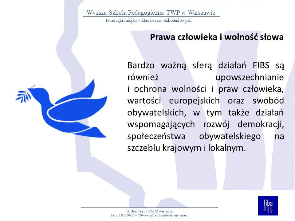 SPOSOBY REALIZACJI CELÓW Ul.Drawska 27 02-202 Warszawa Tel.