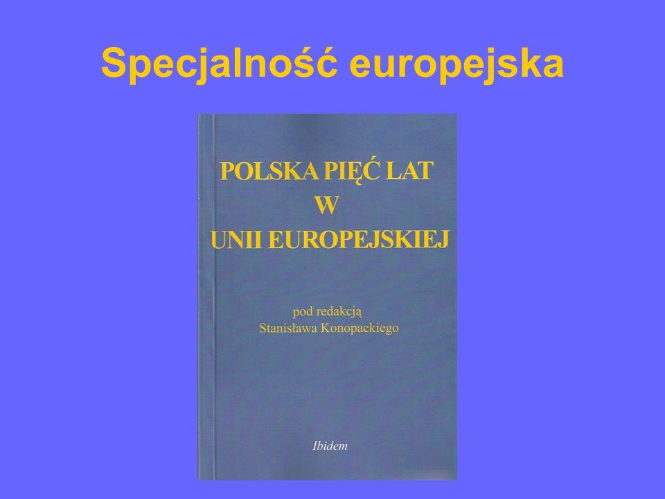 Specjalność europejska