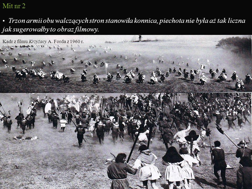 Grunwald jako symbol Bitwa stała się symbolem bohaterstwa i siły państwa polskiego oraz druzgocącej klęski Krzyżaków… Po wielu latach upokorzeń i klęskach w walkach z silniejszym i lepiej zorganizowanym przeciwnikiem złączone państwo polsko- litewskie ukarało krzyżacką pychę…