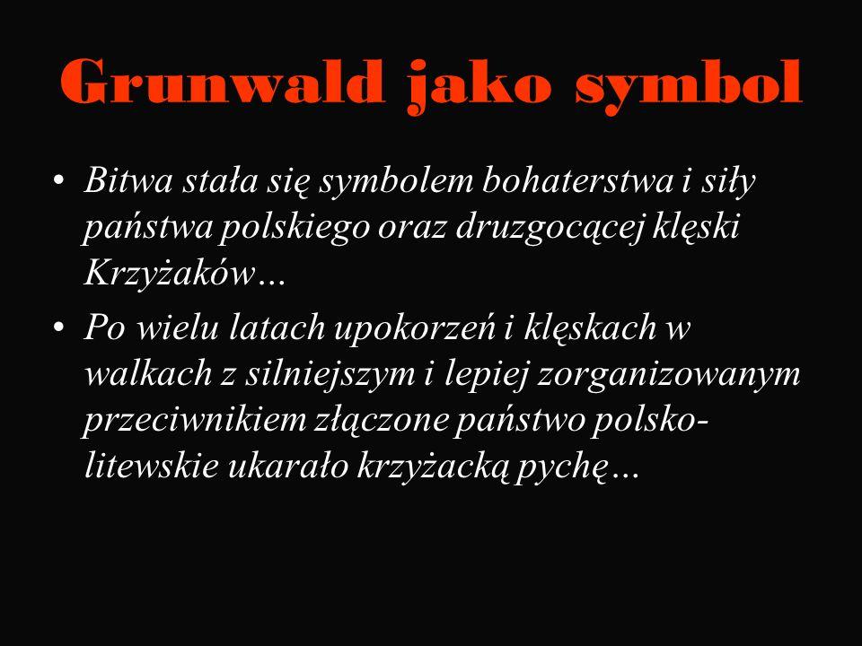 Wojenne trofeum Kopie 18 chorągwi zakonnych zdobytych pod Grunwaldem (Wawel 1939 r.)