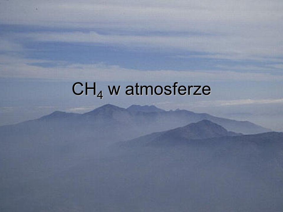 CH 4 w atmosferze