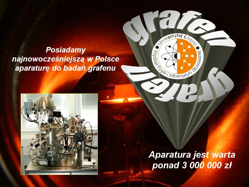 Zajmujemy się budową mikroskopów sił atomowych Powierzchnia grafitu z widoczną strukturą atomową