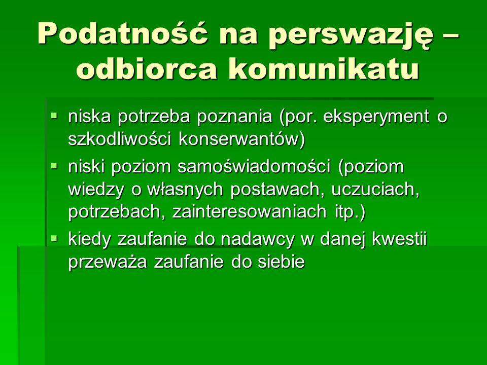 NADAWCA KOMUNIKATU PERSWAZYJNEGO cz.