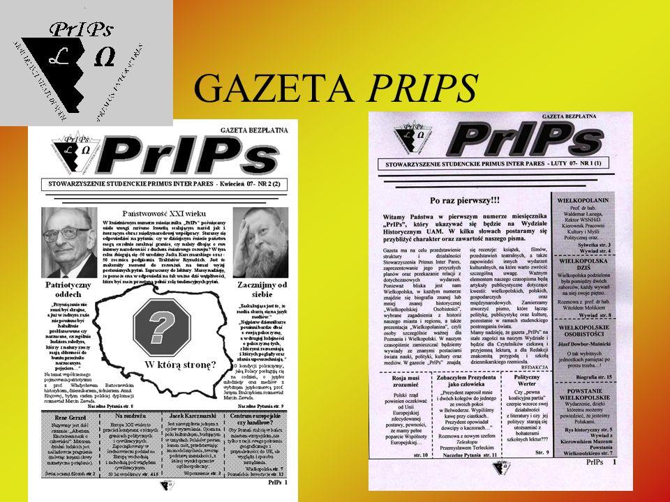 GAZETA PRIPS