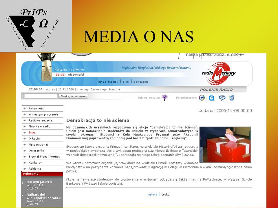 MEDIA O NAS