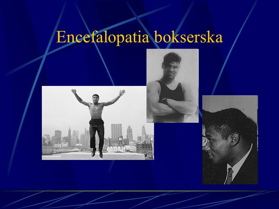 Encefalopatia bokserska