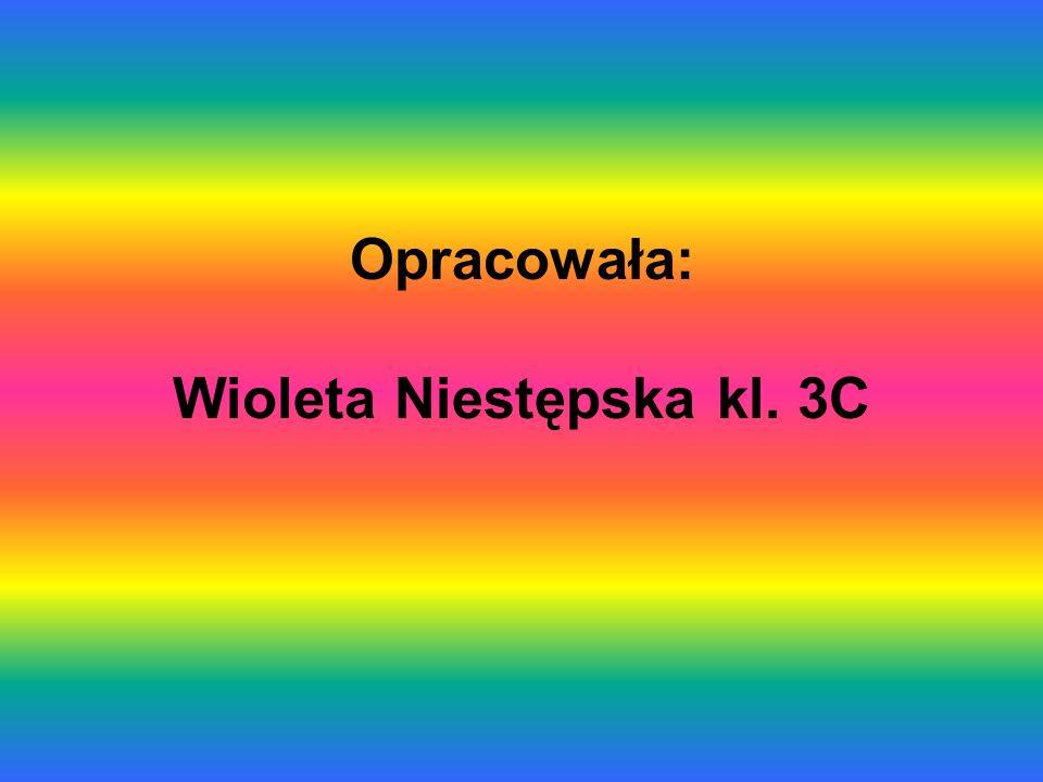 Opracowała: Wioleta Niestępska kl. 3C