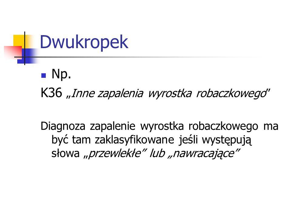 Dwukropek Np.