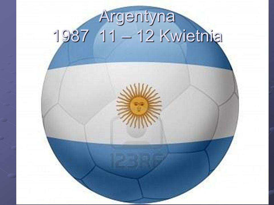 Argentyna 1987 11 – 12 Kwietnia