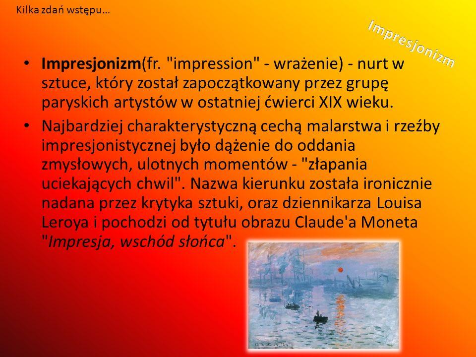 Impresjonizm(fr.