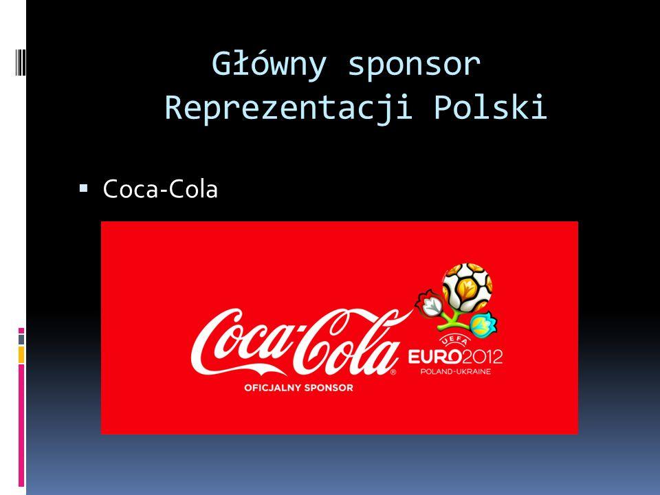 Główny sponsor Reprezentacji Polski Coca-Cola