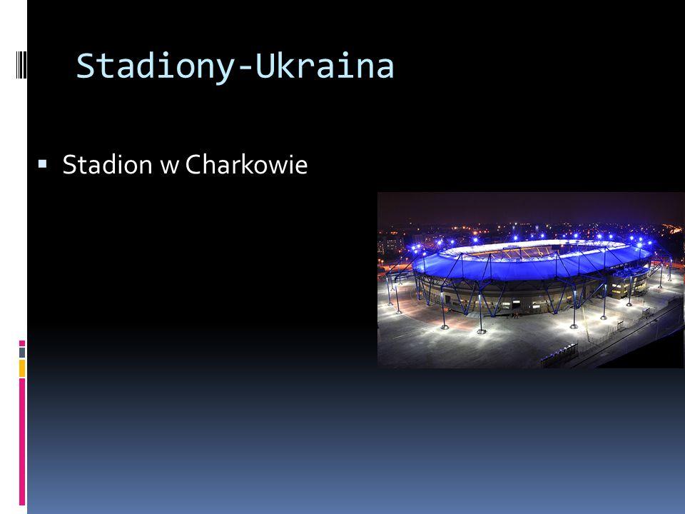 Stadiony-Ukraina Stadion w Charkowie