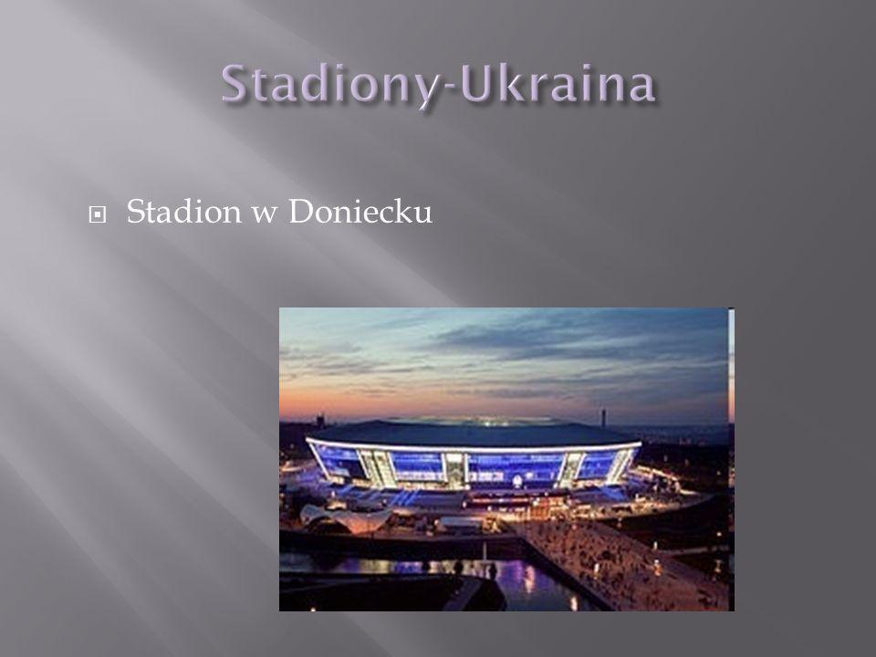 Stadion w Doniecku