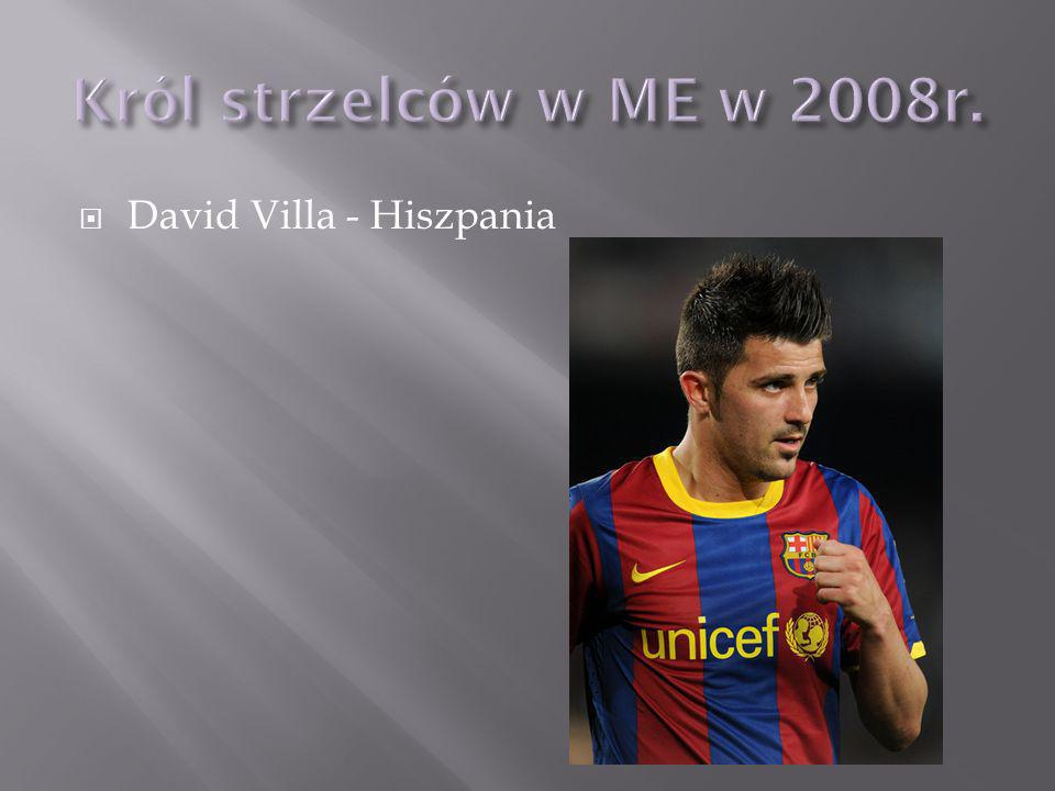 David Villa - Hiszpania