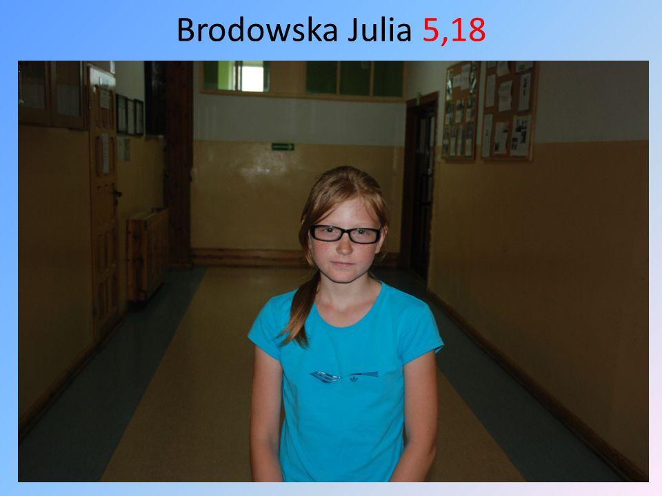 Brodowska Julia 5,18