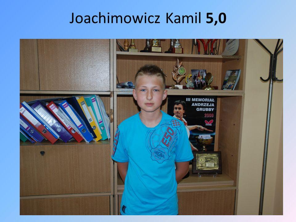 Joachimowicz Kamil 5,0