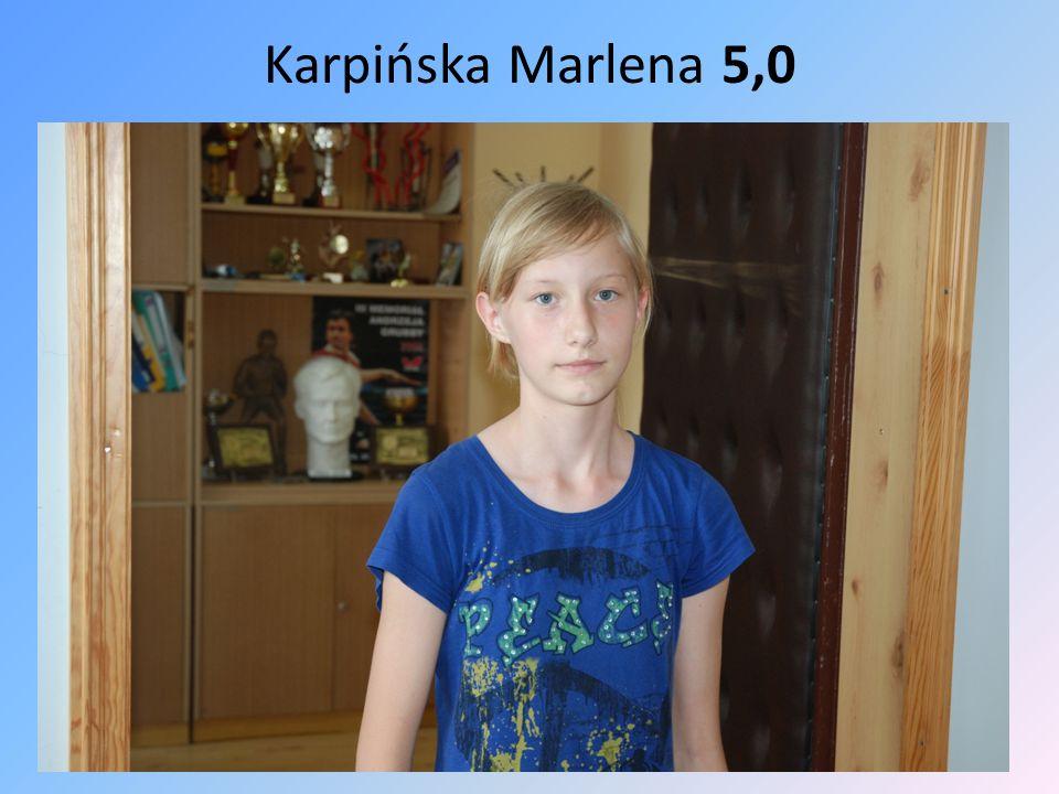 Karpińska Marlena 5,0
