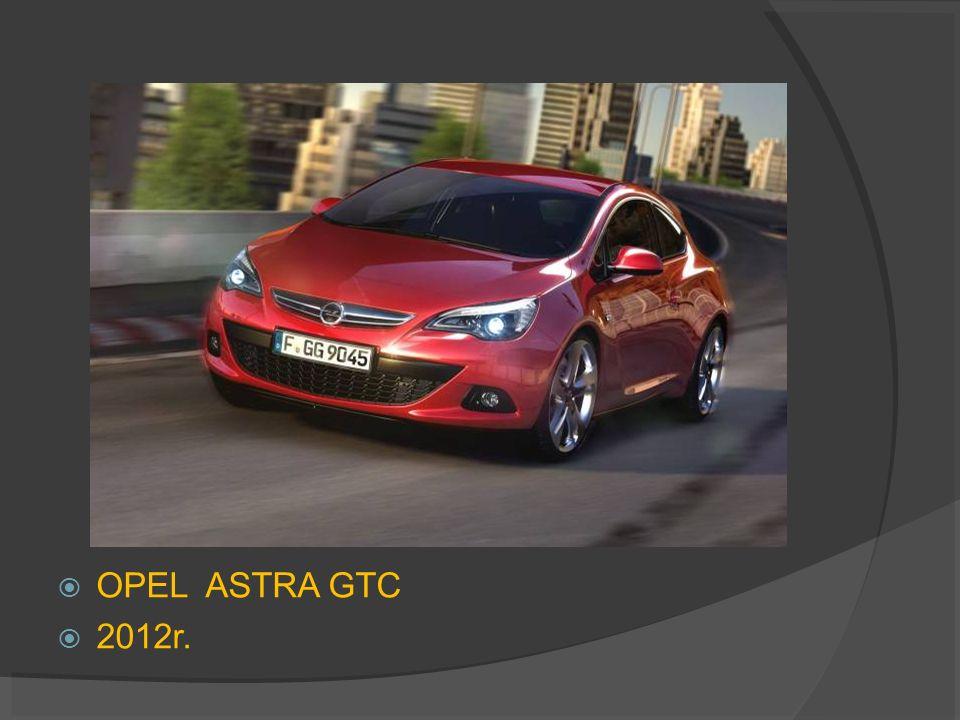 OPEL ASTRA GTC 2012r.
