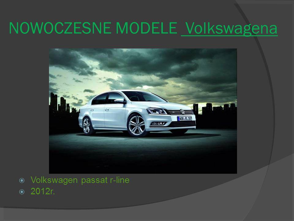 NOWOCZESNE MODELE Volkswagena Volkswagen passat r-line 2012r.