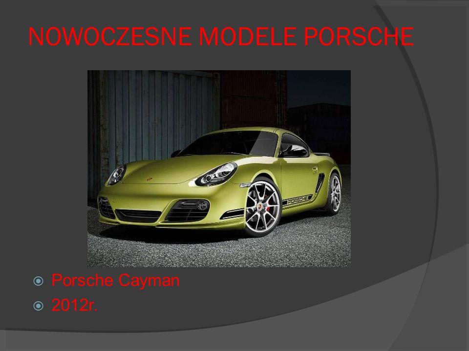 NOWOCZESNE MODELE PORSCHE Porsche Cayman 2012r.