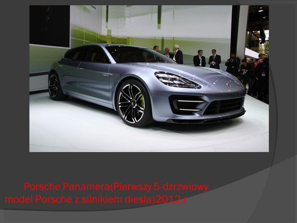 Porsche Panamera(Pierwszy 5-dzrzwiowy model Porsche z silnikiem diesla)2012.r