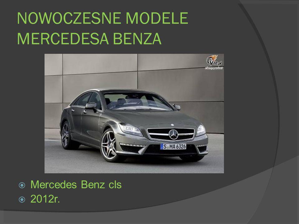 NOWOCZESNE MODELE MERCEDESA BENZA Mercedes Benz cls 2012r.