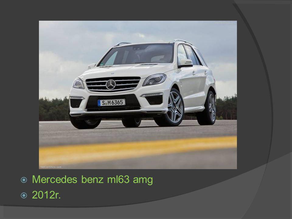 Mercedes benz ml63 amg 2012r.