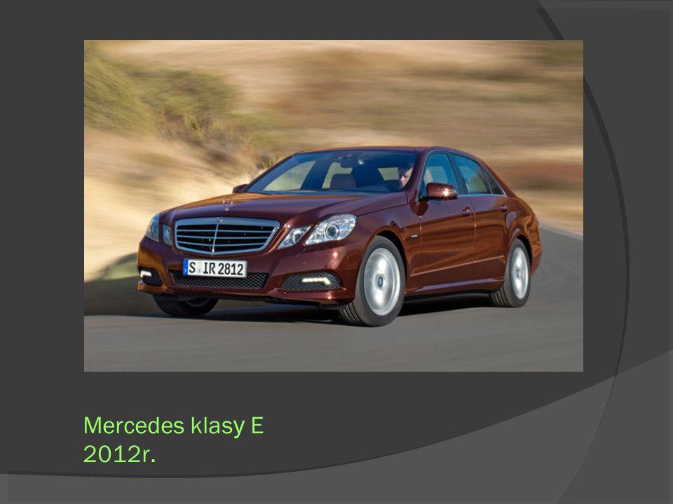 Mercedes klas y E 2012r.