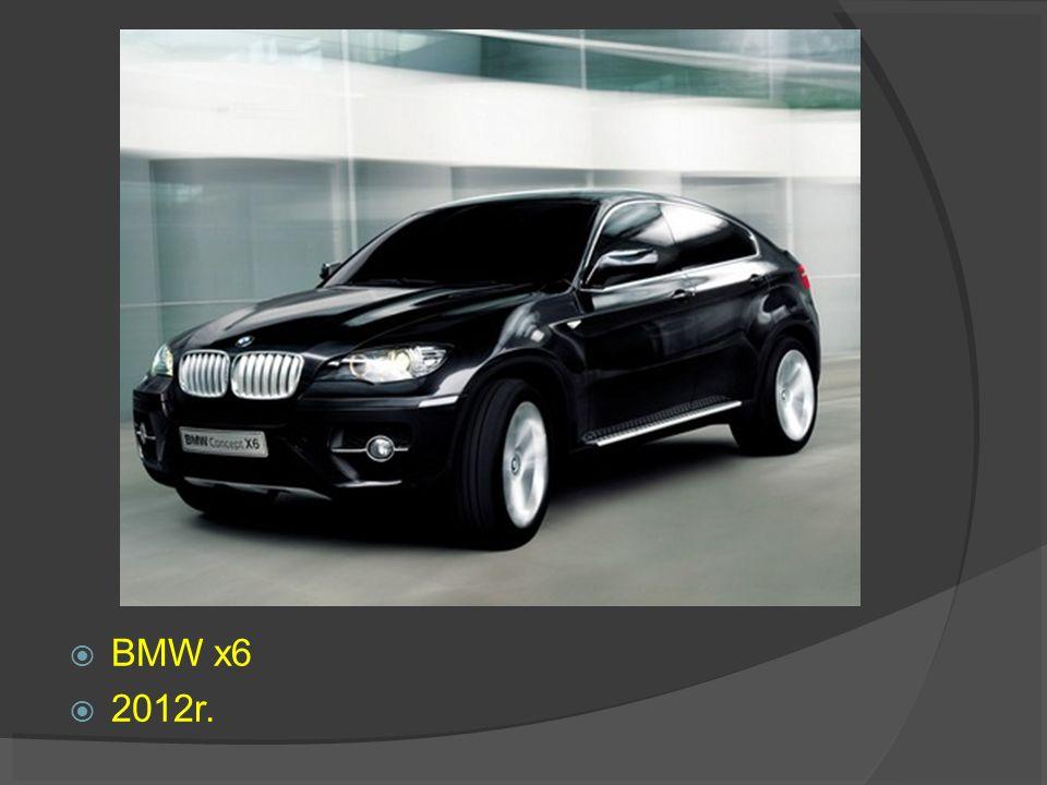 BMW x6 2012r.