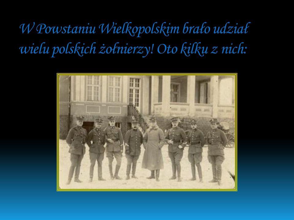 Stanisław Taczak i Józef Dowbor-Muśnicki to głównodowodzący w Powstaniu Wielkopolskim15 stycznia i 16 stycznia 1918r. Stanisław Taczak Józef Dowbor-Mu