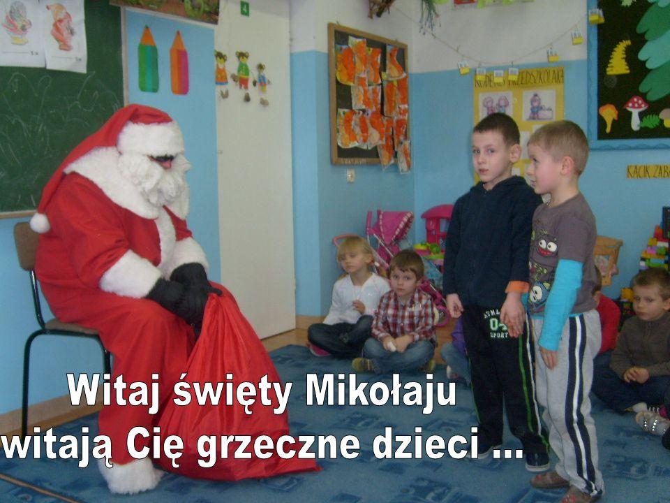 Pamiątkowe zdjęcie z Mikołajem