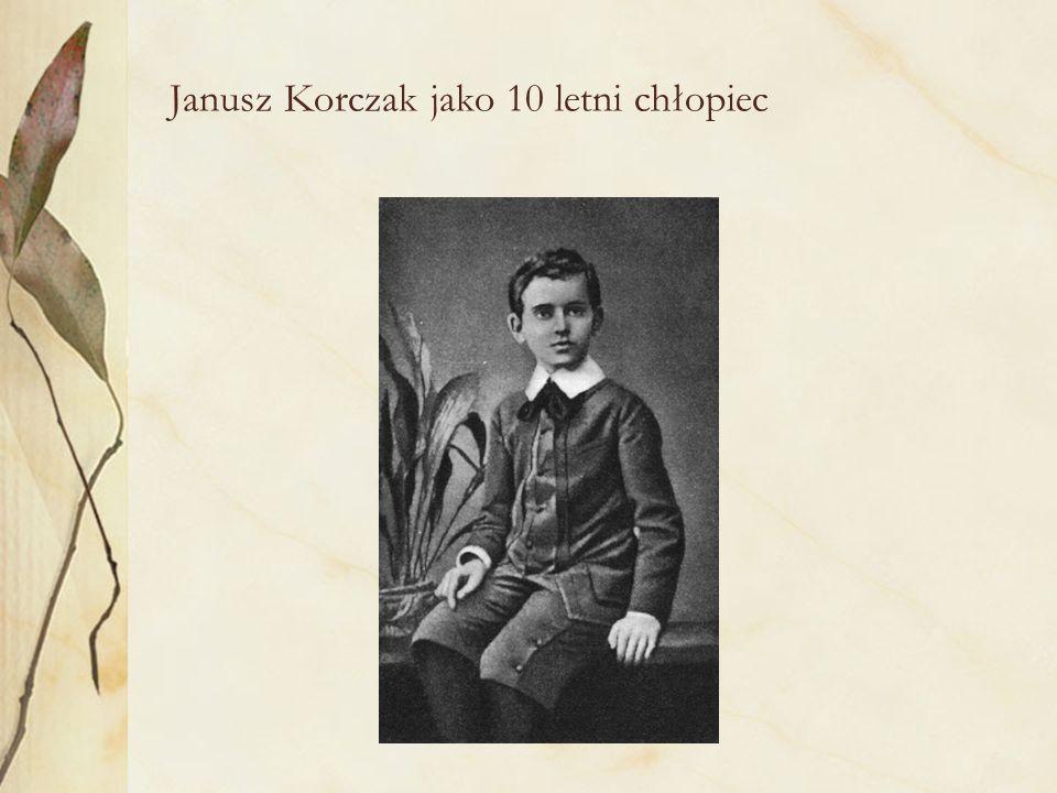 W służbie dziecku i społeczeństwu Biografia społeczna i zawodowa Janusza Korczaka wpisuje się w klimat i idee przełomu XIX i XX wieku, którymi żyły elity arystokracji, inteligencji i społecznicy dawnej Warszawy.