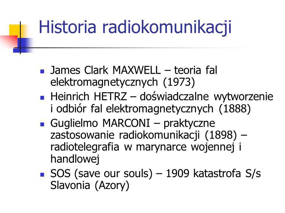 Przykład systemu radiokomunikacyjnego