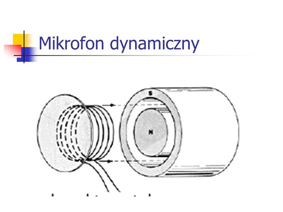 Mikrofon pojemnościowy (elektretowy)