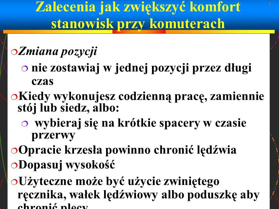 18 Ergonomia (przykłady)